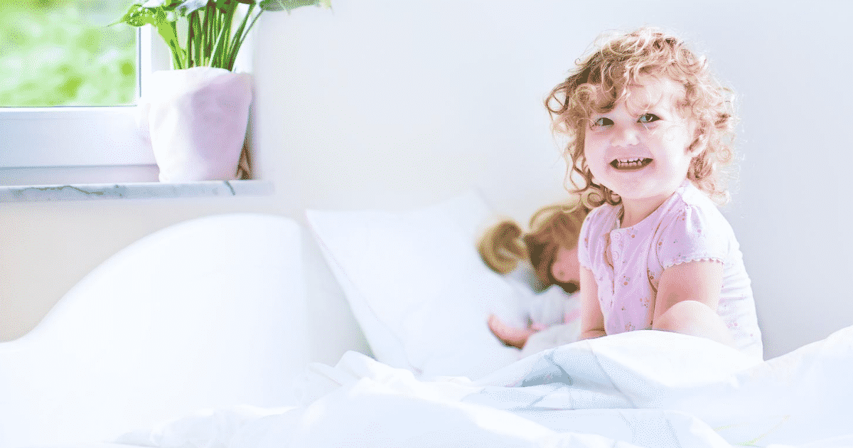 Tips to stop my toddler waking early