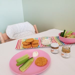Baby Weaning Spicy Pumpkin and Chickpea Patties