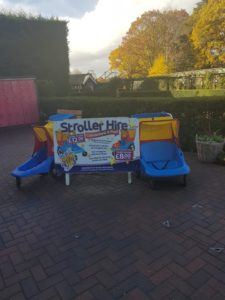 Peppa Pig World Stroller Hire