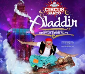 Aladdin Christmas Pantomime at Blackpool Circus