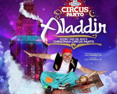 Aladdin Christmas Pantomime at Blackpool Circus