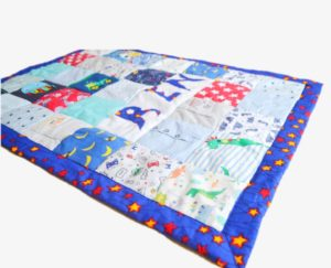 Creating a Timeless Memory Blanket with Baby Clothing