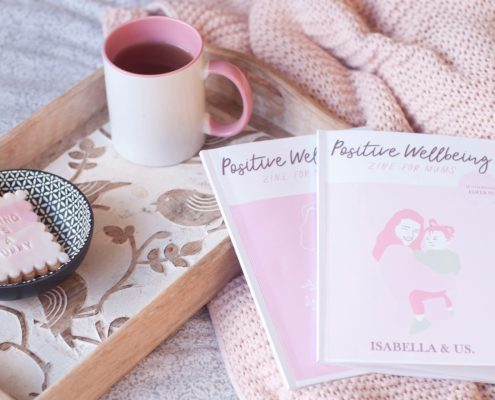 Postitive wellbeing zine for mums