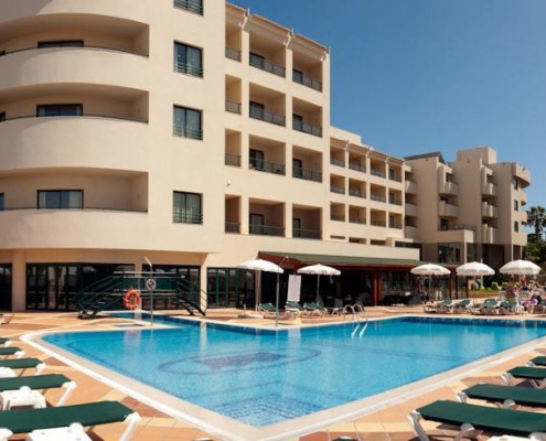 the best family hotel in albufeira portugal
