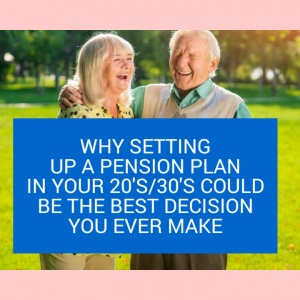 why setting up a pension plan in your 20s30s could be the best decision you ever make