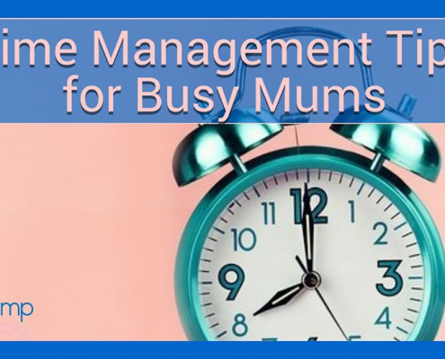 time management tips for busy mums