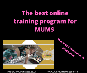 Online Fitness Programme for Busy Mum's