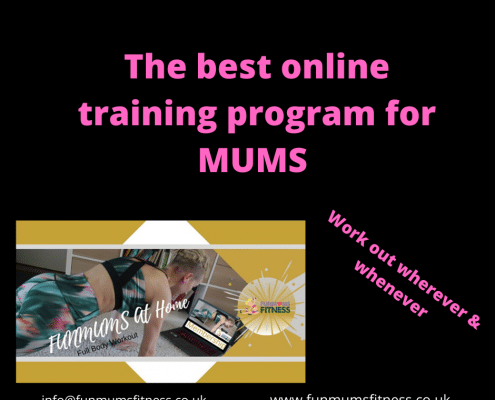 Online Fitness Programme for Busy Mum