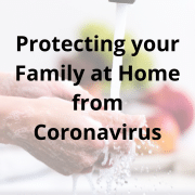 Protecting your family at home from coronavirus