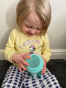 how to stop a toddler spilling juice
