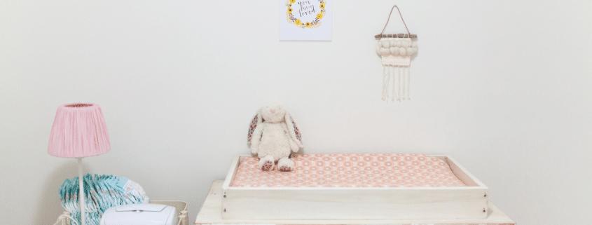 decorating a nurseyr on a small budget