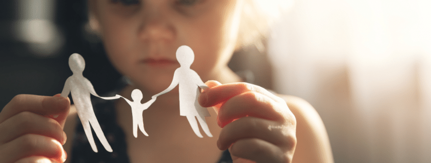 How does child custody work when you separate